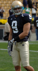 Tom Zbikowski was the 86th player selected in the 2008 NFL Draft.