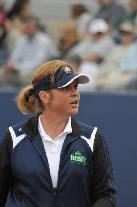 Deanna Gumpf has led Notre Dame to the NCAA Tournament in each of her seven seasons as head coach.