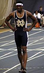 Selim Nurudeen captured seven BIG EAST titles during his stellar four-year career (2002-05) at Notre Dame.