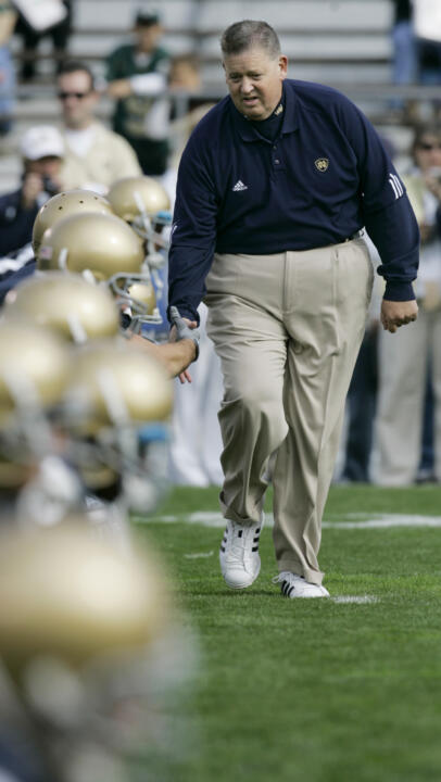 Charlie Weis will run the '08 Irish through a three-hour practice that is open to the fans on Sunday, Aug. 10.