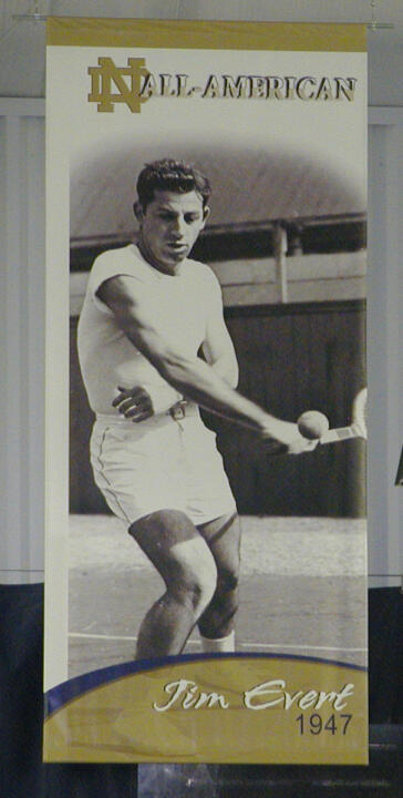 Jim Evert was a Second-Team All-American in 1947.