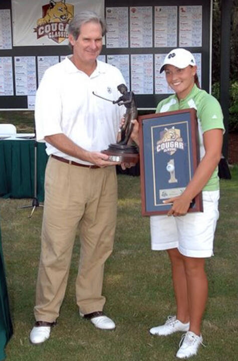 In 2007, Lisa Maunu won the Cougar Classic with a school-record 54-hole total of 210 (-6). She also established a program record with a six-under par 66 during the first round.