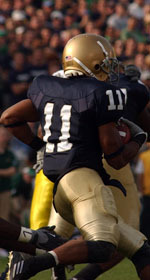Irish senior wide receiver/co-captain and Detroit native David Grimes returns to his home state for the final time as a collegian on Saturday when Notre Dame takes on Michigan State in East Lansing.