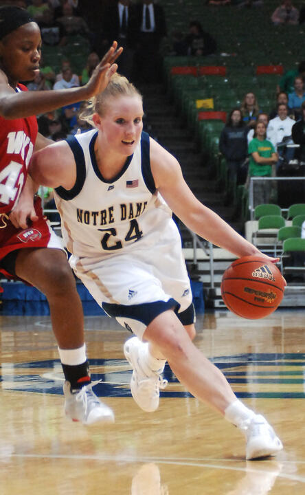 Senior guard Lindsay Schrader was named a 2008-09 Preseason All-BIG EAST Honorable Mention selection, it was announced Thursday at the conference's annual Media Day in New York.