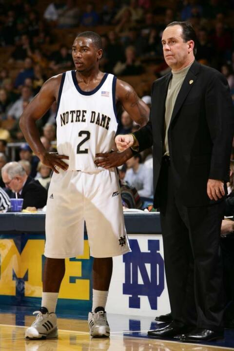 Mike Brey and the Irish open up the 2008-09 campaign with an exhibition game against Briar Cliff on Oct. 31.
