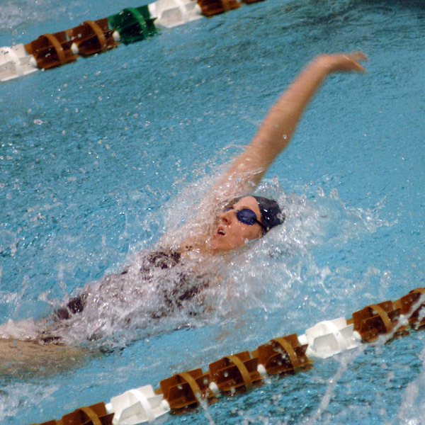 Notre Dame won the Dennis Stark Relays in commanding fashion Friday evening at the Rolfs Aquatic Center.