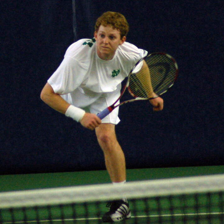 Stephen Havens and the Irish will return to action at the Tom Fallon Invitational this weekend.