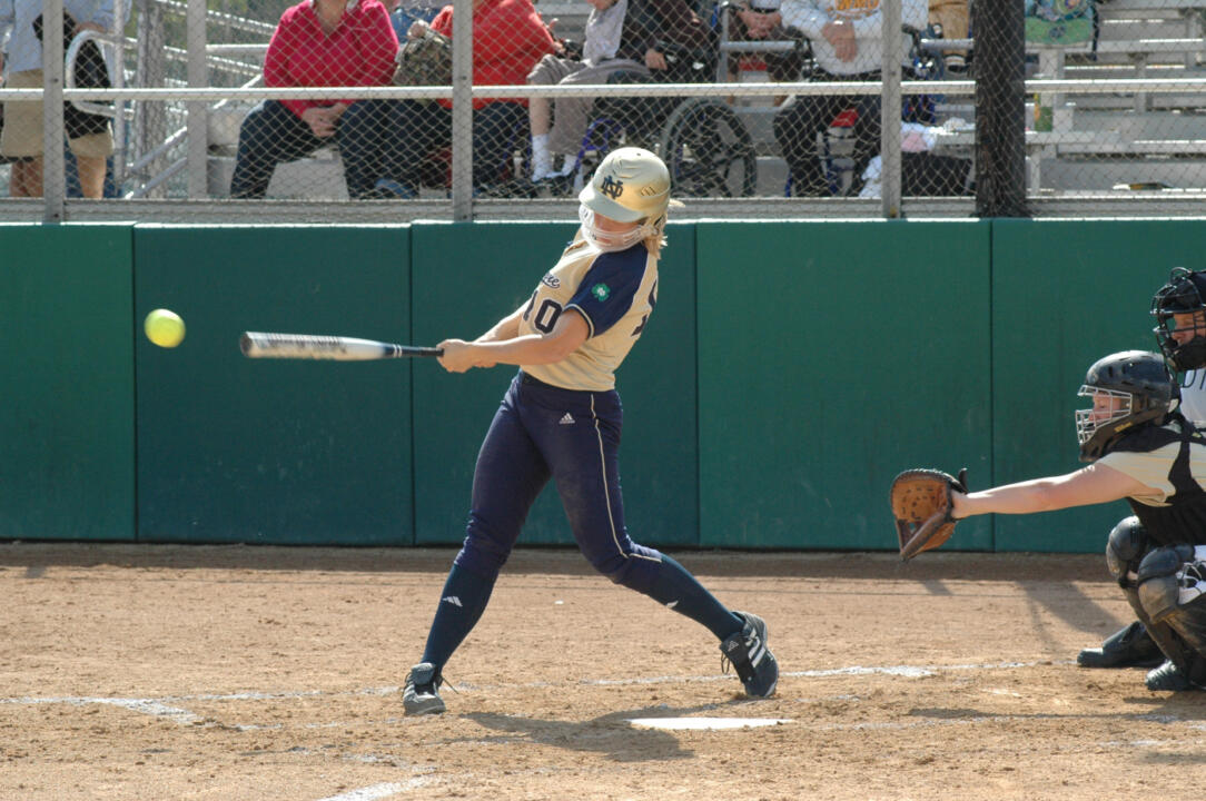 Several current Notre Dame players will be on site during this fall's Elite Irish Softball Hitting Academy.
