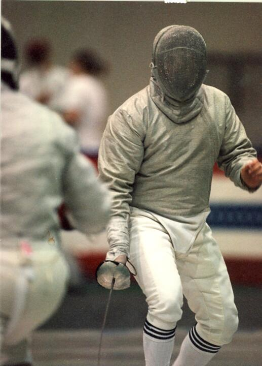 Luke La Valle will be remembered as one of the greatest fencers to ever suit up for the Irish.
