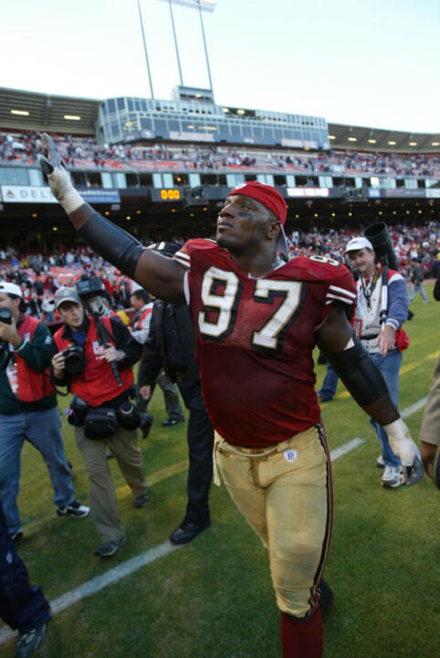Bryant Young is returning to Notre Dame after a 14-year career with the San Francisco 49ers
