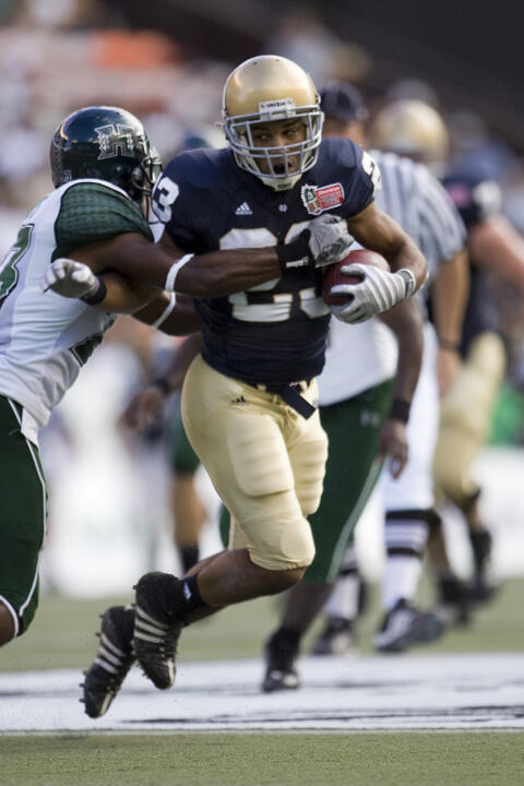 Wide receiver Golden Tate and his Fighting Irish teammates will open the 2009 season against Nevada on Sept. 5 at 3:30 p.m. (EDT) at Notre Dame Stadium.