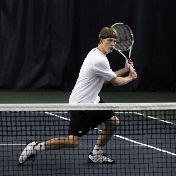 Casey Watt earned the match-clinching win versus Texas Tech.