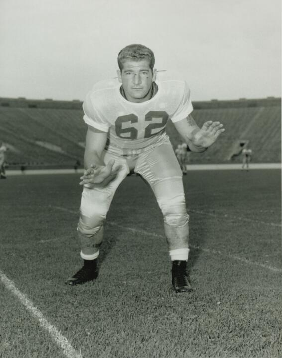 Bisceglia was selected as the team's senior captain in 1955