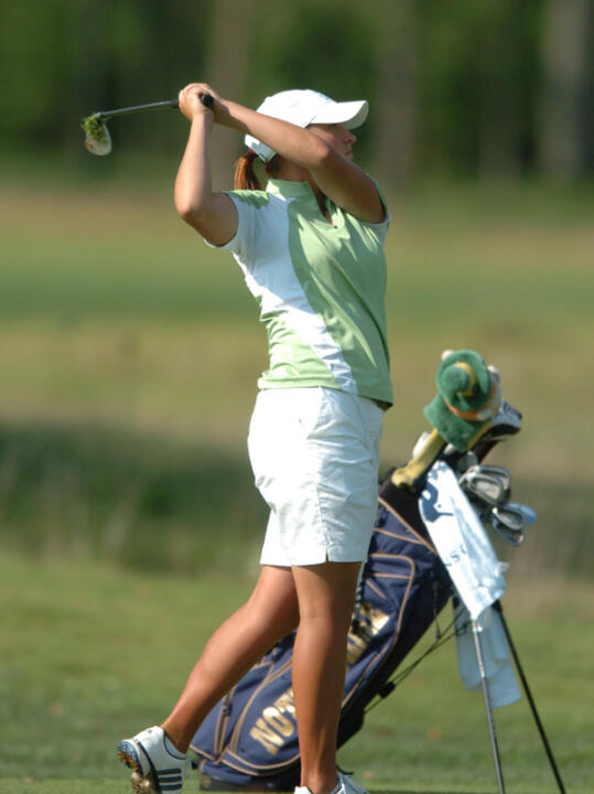 Lisa Maunu is set to lead the Irish in their first ever appearance at the Bryan National Collegiate.