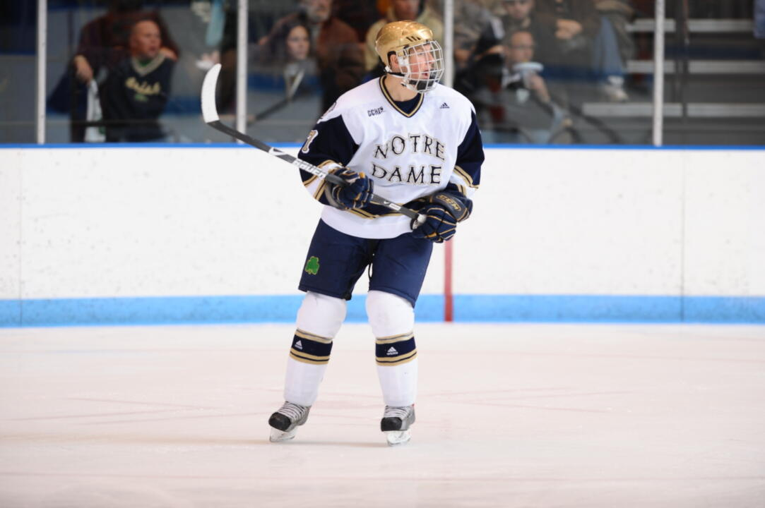 Freshman right wing Billy Maday becomes the 10th Notre Dame hockey player to be selected to the CCHA all-rookie team.  He was a unanimous choice to the 2009 team this season.