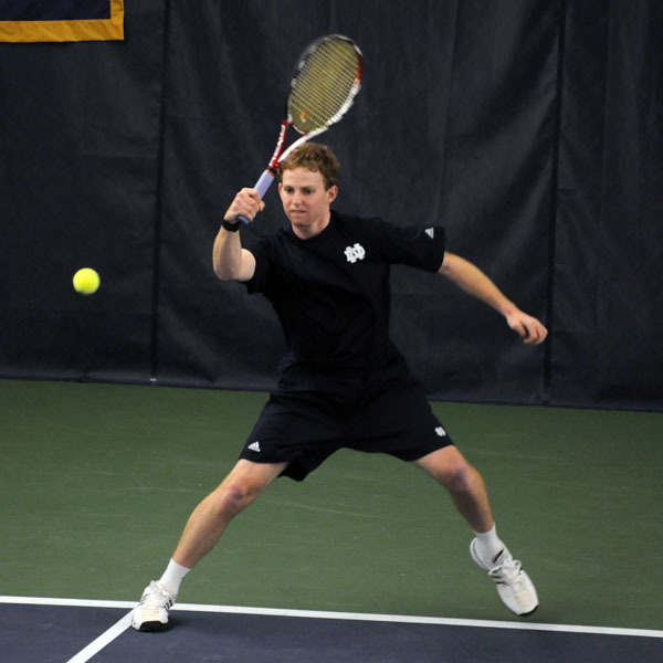 Stephen Havens knocked-off another nationally ranked opponent in his win at second singles versus Wisconsin.
