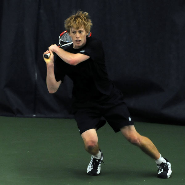 Casey Watt posted a 2-0 singles record at the 2009 Blue Gray National Tennis Classic en route to being named BIG EAST men's tennis Player of the Week.