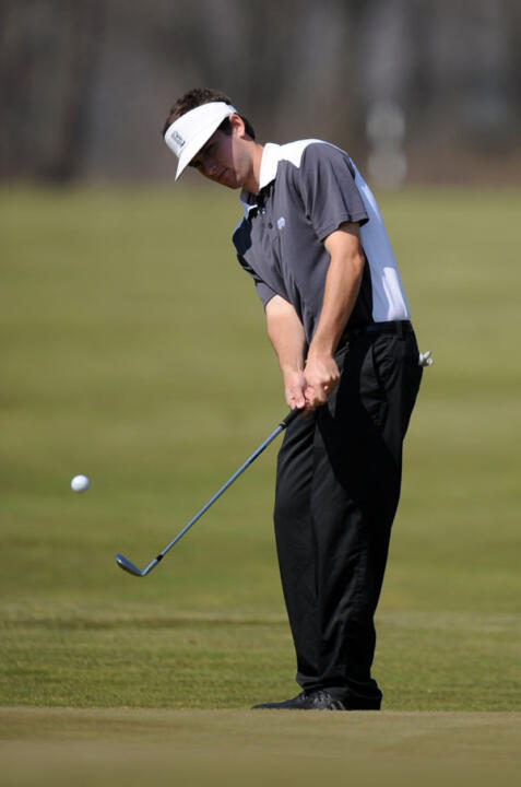 Junior Doug Fortner finished one shot off the school record, firing a six-under par 210 to tie for second place at the 2009 BIG EAST Conference Championship, which wrapped up Tuesday at the Lake Jovita Golf & Country Club in Dade City, Fla.