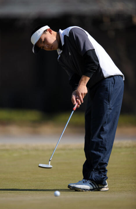 Sophomore Dustin Zhang tied for 18th place at last year's BIG EAST Championship, and is one of two Irish golfers with experience playing in the conference tournament.
