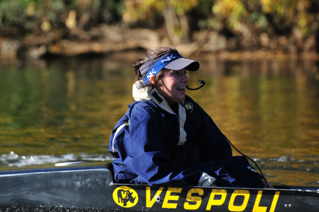 Notre Dame's second varsity crew will be competing for the Jackie Ann Stitt Hungress Trophy on Sunday.
