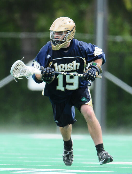 Davey Melera and the Irish senior class will be playing their final regular-season home game on Sunday.