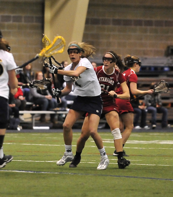 Senior attack Jillian Byers is one of 25 nominees for the 2009 Tewaaraton Trophy.
