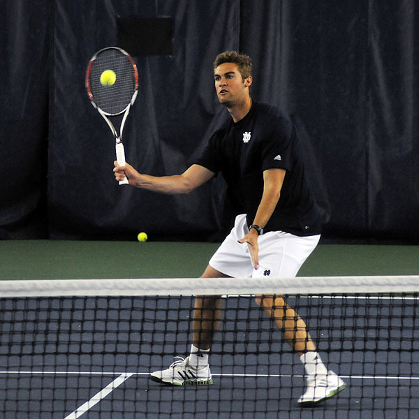 Brett Helgeson was a unanimous selection to the 2009 All-BIG EAST men's tennis team.