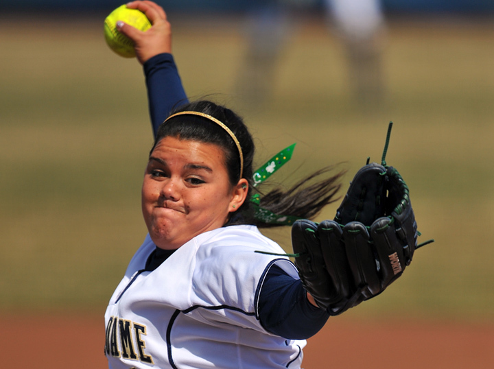 Sophomore pitcher Jody Valdivia struck out 14 Panthers during Satuday's win over Pittsburgh.