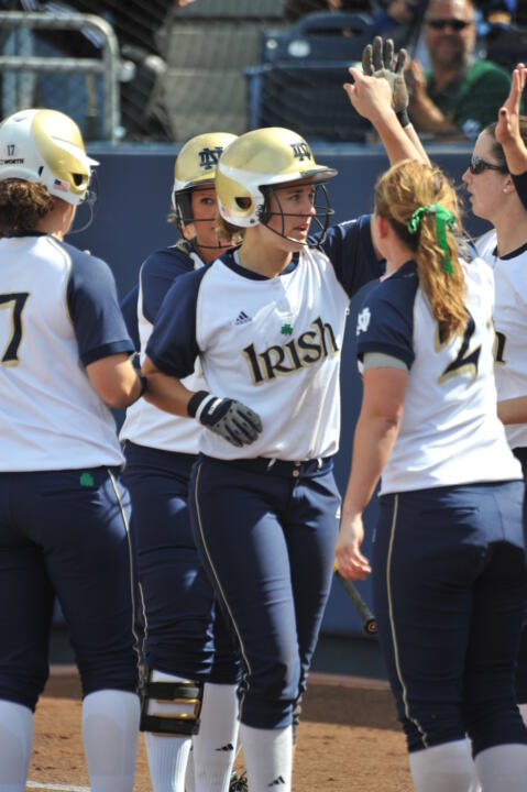 This season's Irish squad set a new home run record Thursday at Providence.