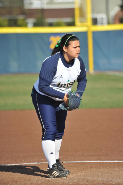 Sophomore pitcher Jody Valdivia look to stay perfect against BIG EAST Conference foes when the Irish face Syracuse on Sunday.