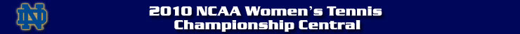 2010 NCAA Women's Tennis Championship