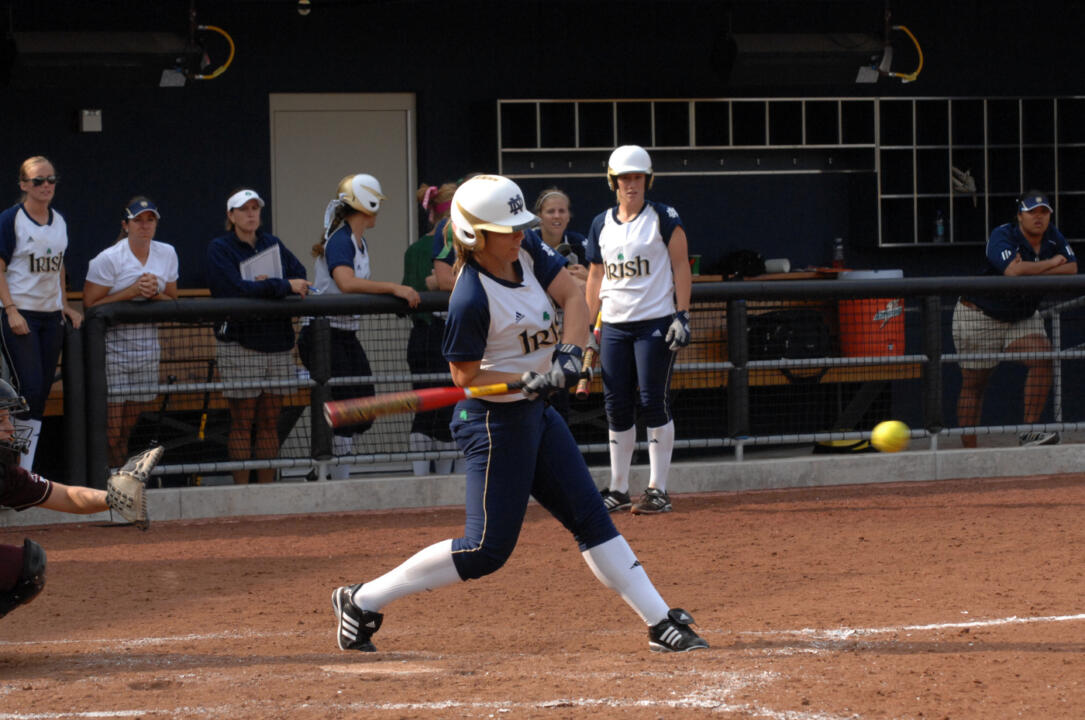 Brianna Jorgensborg had a triple and one double with two RBI for Notre Dame against Miami (Ohio).