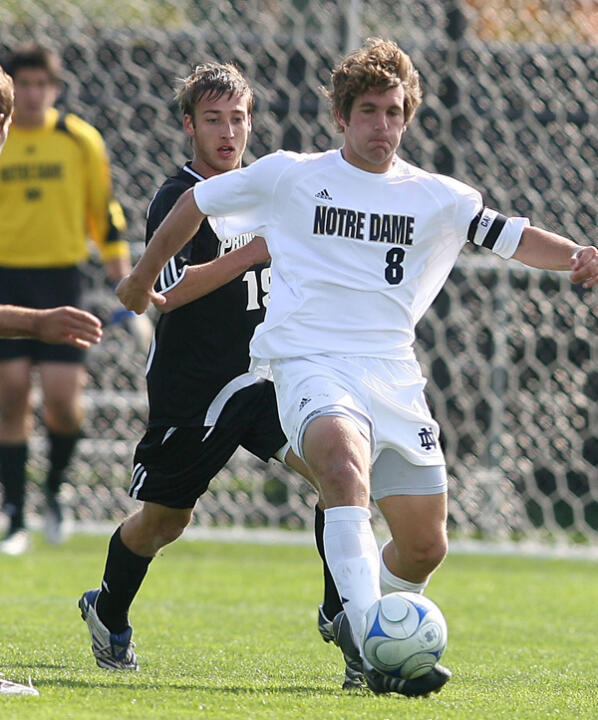 Senior midfielder Michael Thomas will serve as a team captain for the second straight season.