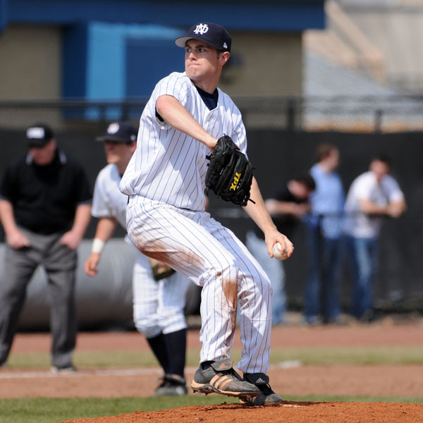 Junior David Mills three 3.0 effective innings of relief in Saturday's 8-3 loss to Connecticut.
