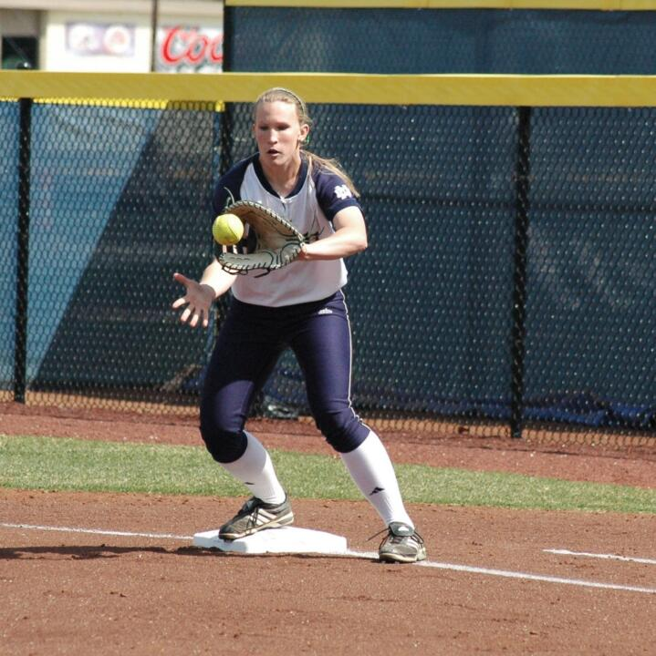 Christine Lux becomes the first NFCA All-American since Stephanie Brown in 2006
