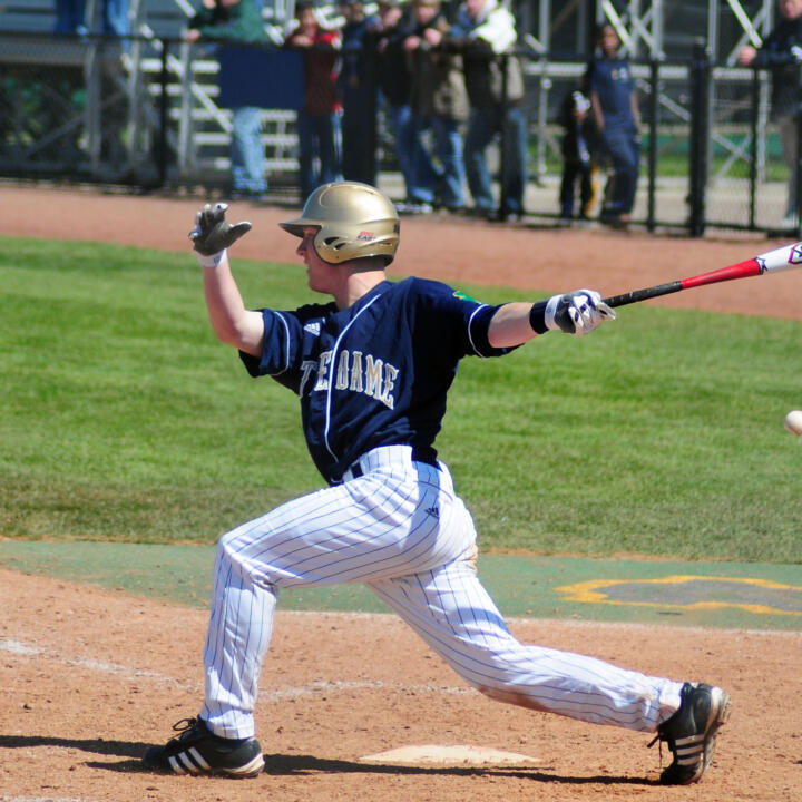 Ryan Connolly blasted two home runs versus St. John's, including his first career grand slam.