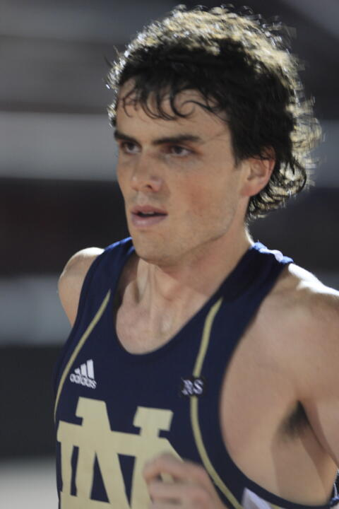 Patrick Smyth registered a fourth-place outcome in the 10,000m to earn the Irish five points in the team standings.