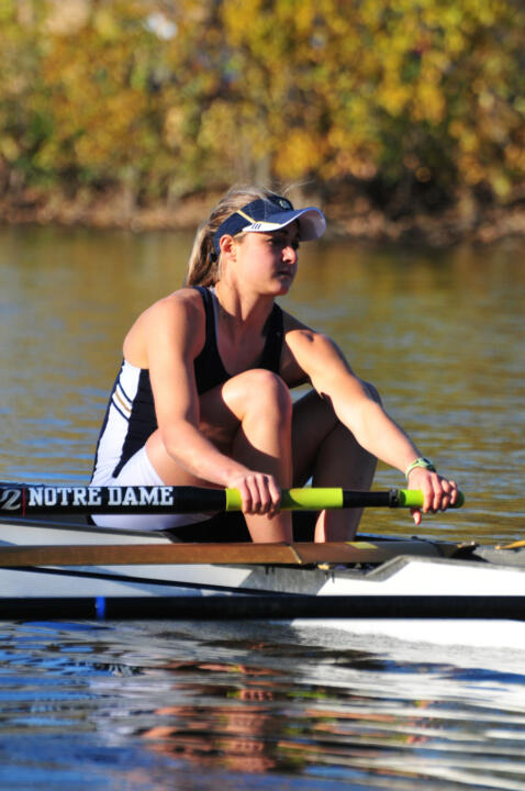 Lauren Buck is the the first Irish rower to receive an NCAA Postgraduate Scholarship