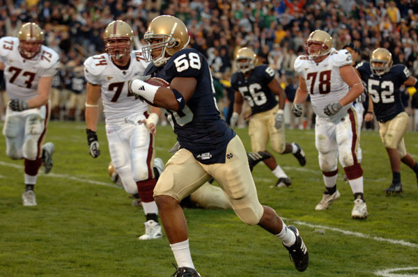 Linebacker Brian Smith and his teammates are looking forward to the 2009 season opener against Nevada on Sept. 5.