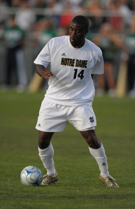 Bright Dike tallied two goals to help Notre Dame top Northern Illinois 3-0 in the second match of the day.