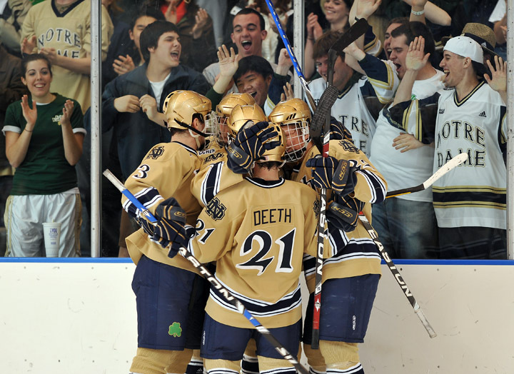 Be a part of all the action this season with Notre Dame hockey season tickets!!!!