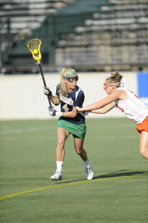 Notre Dame graduate Jillian Byers has been selected to the US Lacrosse Developmental Team for the second consecutive year.