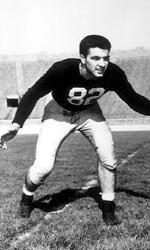 Led by co-captain and Heisman Trophy winner Leon Hart, the 1949 Notre Dame football team finished with a perfect 10-0 record and averaged 36 points per game en route to its third national championship in four years.