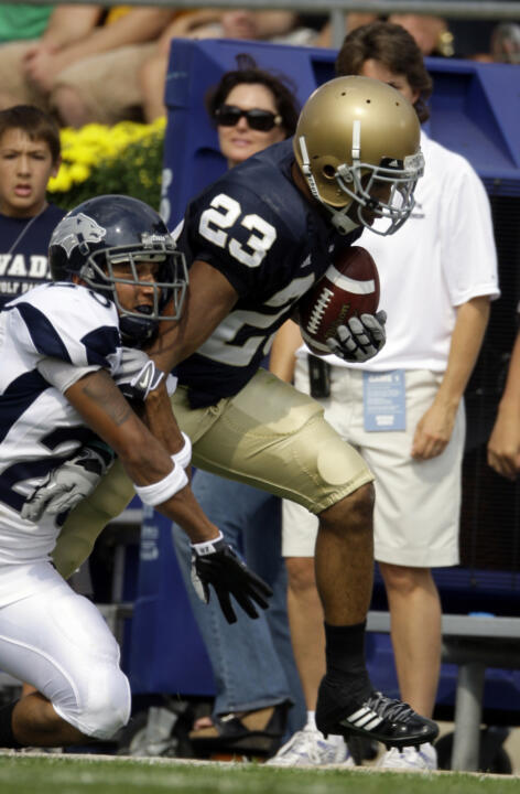 Golden Tate will lead the Irish receivers into West Lafayette to face Purdue on Saturday (8:00 p.m. ET, ESPN).