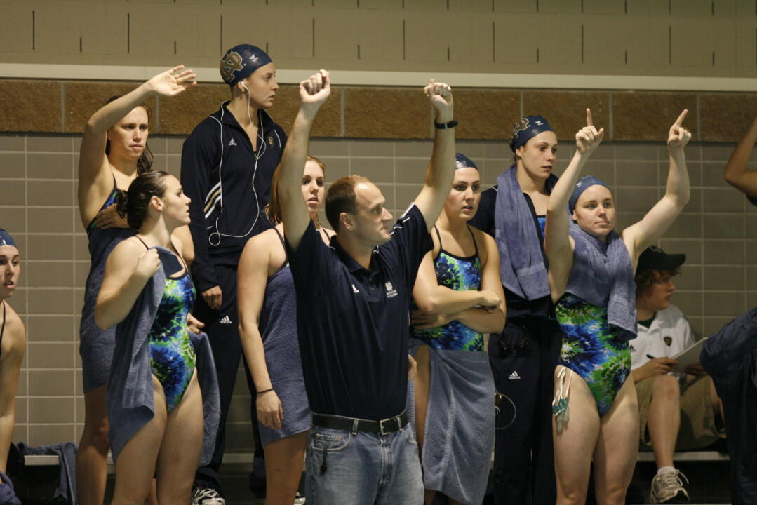 Second-year head coach Brian Barnes has the 13-time BIG EAST champion Notre Dame women's swimming & diving team seeking an even greater prize in 2009-10: NCAA Championship hardware.