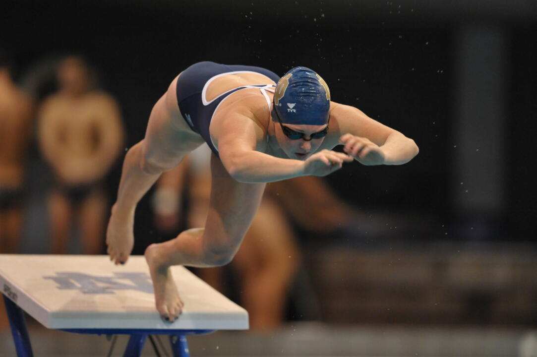 Notre Dame opened the 2009-10 season Friday at the Rolfs Aquatic Center.