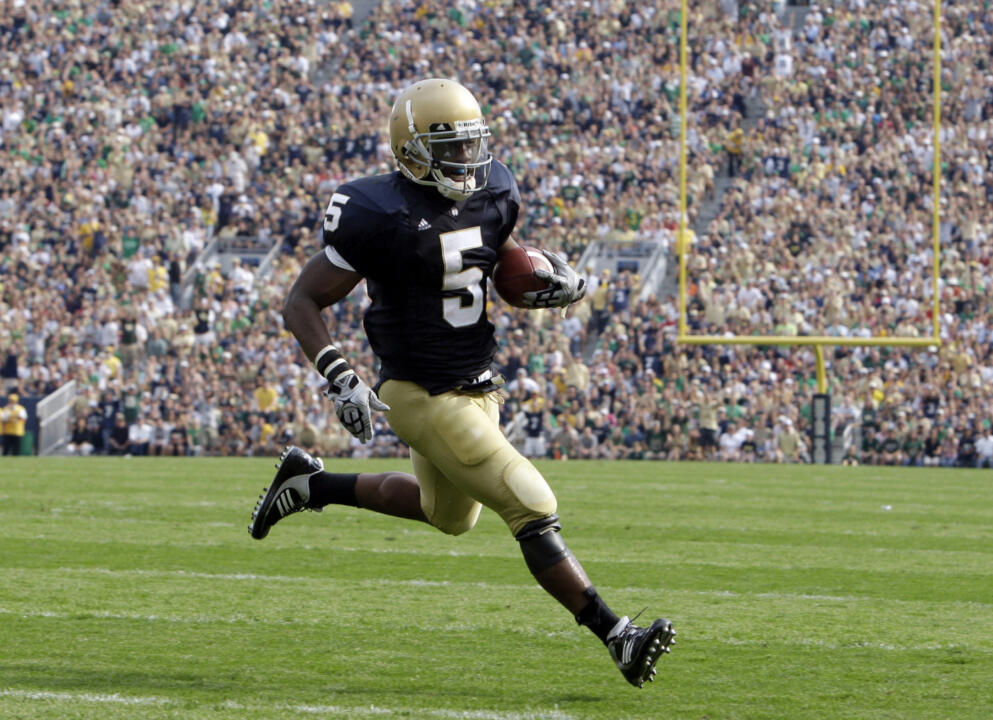 Armando Allen has provided plenty of highlights for the Irish so far in 2009.