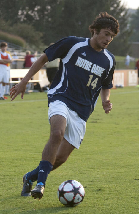 Sophomore midfielder Adam Mena netted the equalizer in the 37th minute.