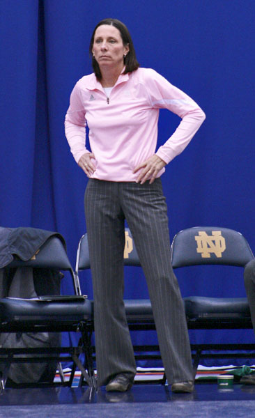 Head coach Debbie Brown has her team on an eight-match winning streak.