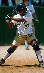 Andrea Loman was a shining star for the Irish throughout her collegiate softball career.